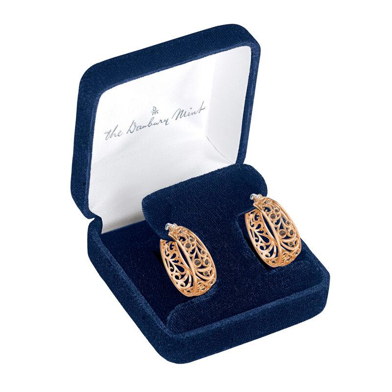 Cool n Copper Hoop Earrings 6745 0015 g open display