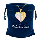 Angels are With You Diamond Heart Pendant 10424 0015 g gift pouch