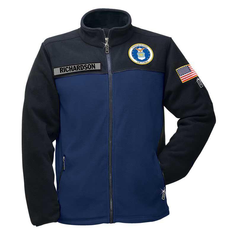 The US Air Force Womens Fleece Jacket 1662 012 2 1