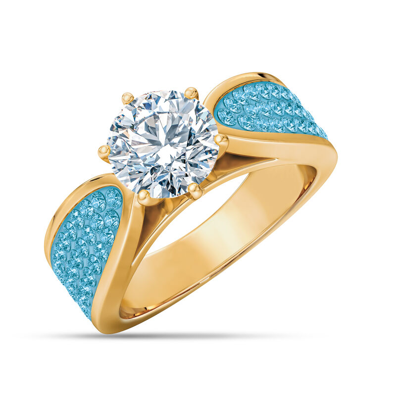 The Birthstone Fire Ring 2581 0011 l decmber