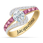 Personalized Birthstone Splendor Ring 10385 0012 f june