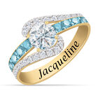 Personalized Birthstone Splendor Ring 10385 0012 c march