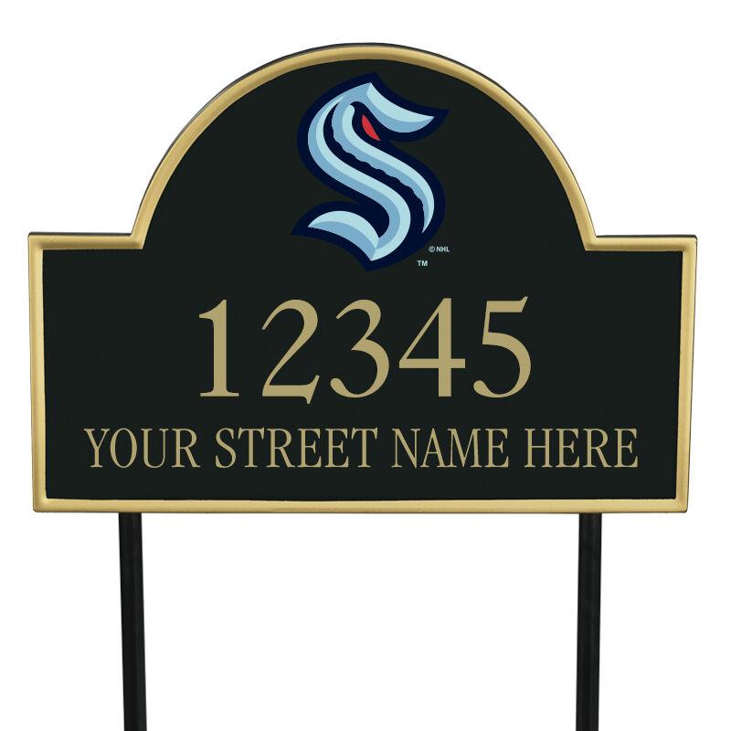 Seattle Kraken Address Plaque 1014 0069 a main