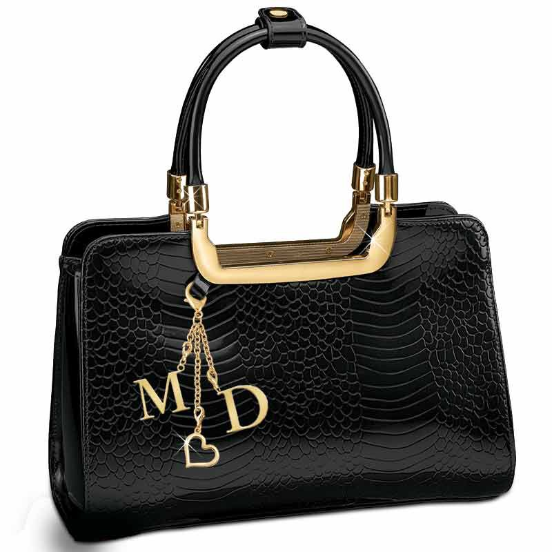 Midnight Spell Genuine Leather Handbag 5619 002 8 1