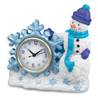 Seasonal Sensations Figural Clocks 10167 0016 f december