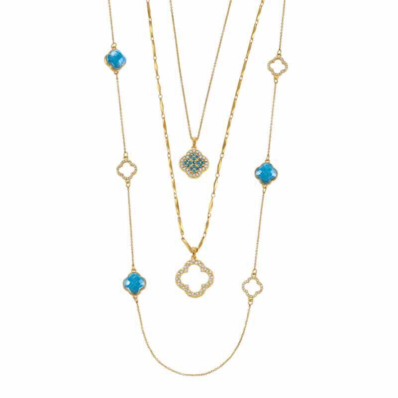 Birthstone Beauty Layered Necklace Set 6594 001 7 3