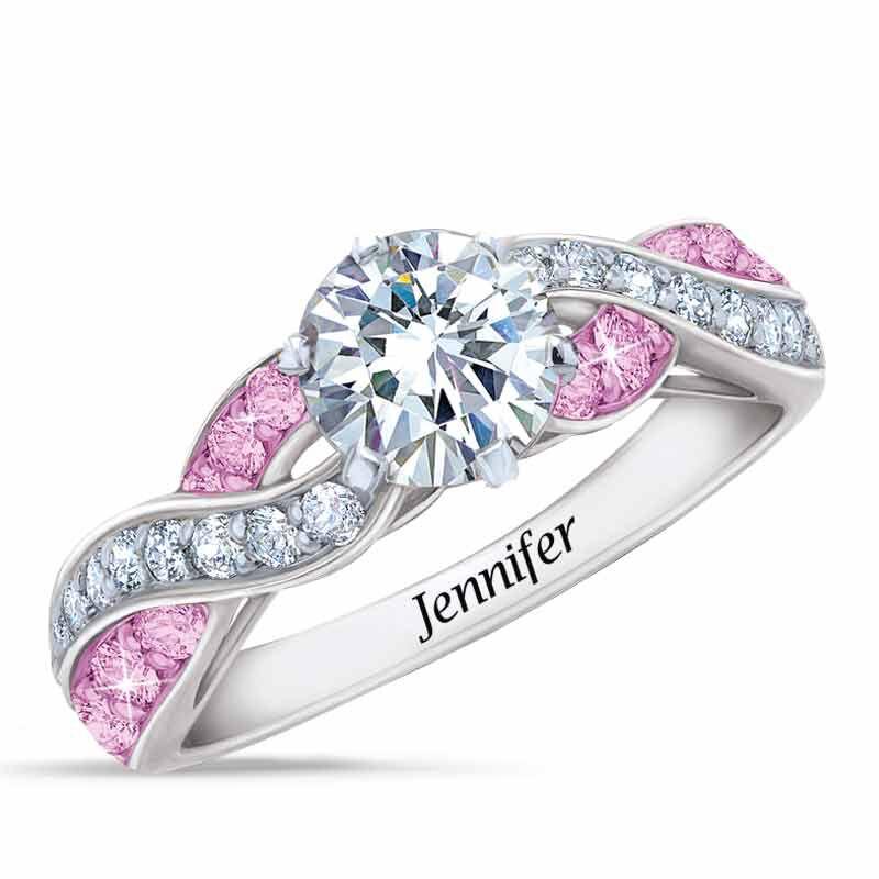 Birthstone Swirl Ring 6366 001 3 6
