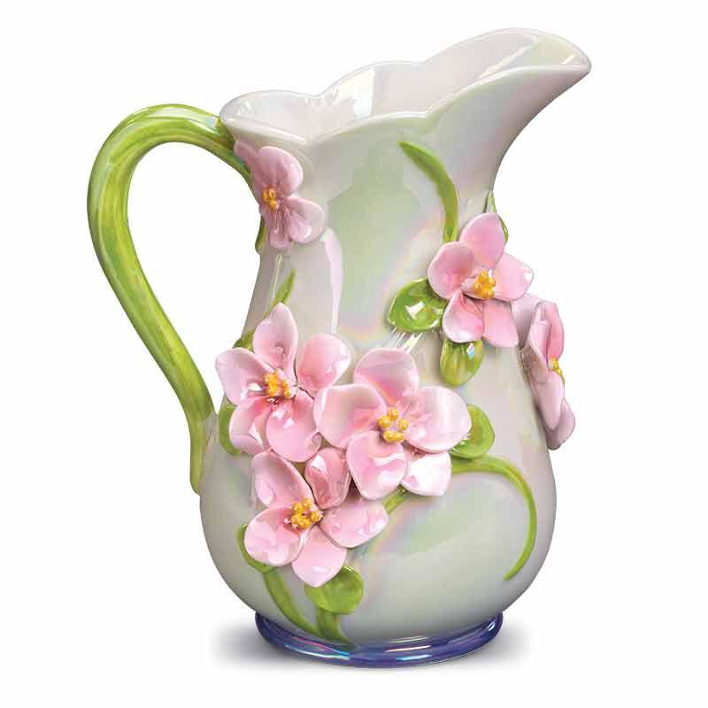 My Daughter Forever Floral Ceramic Vase 6113 001 9 2