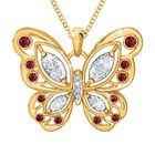 The Birthstone Butterfly Diamond Pendant 2030 001 8 1