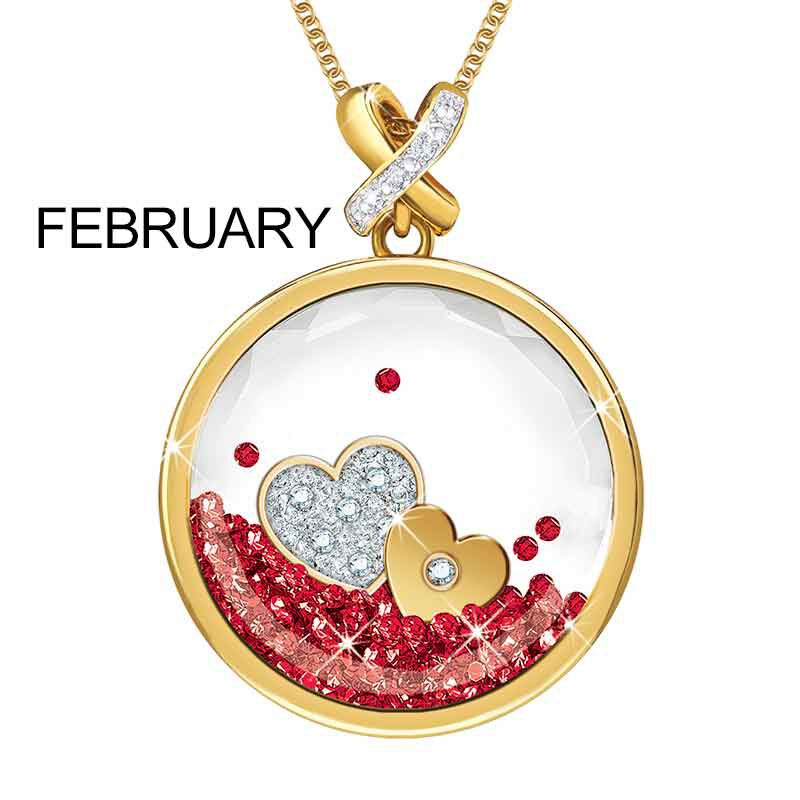 Year of Cheer Floating Crystal Pendants 1553 001 7 3