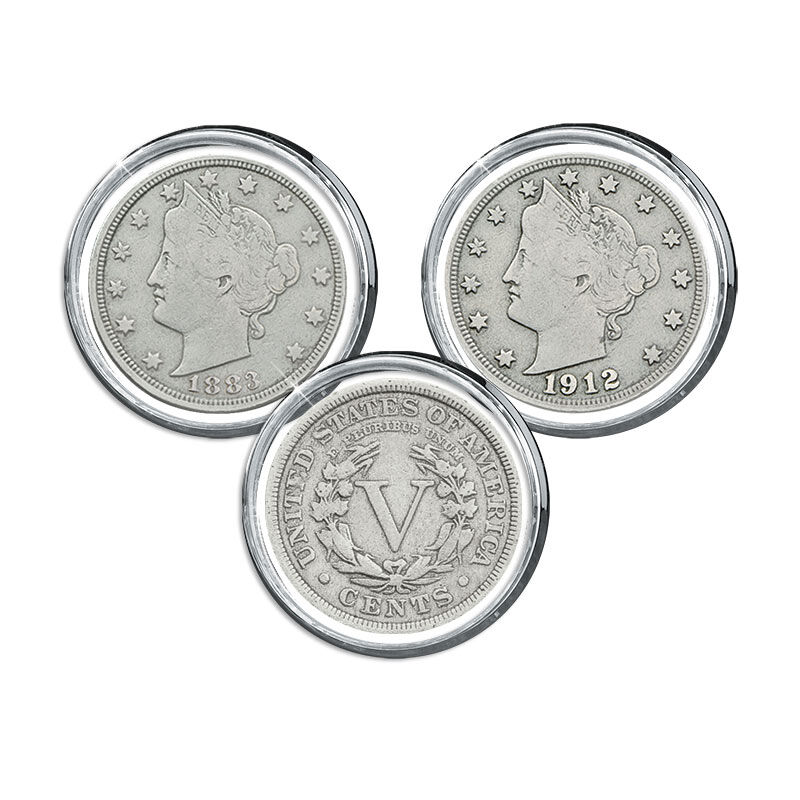 Liberty Head Nickels Collection 4540 001 7 1