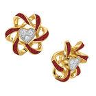 Birthstone Beauty Heart Earrings 2627 0066 a main