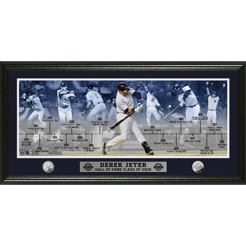 Derek Jeter 2020 Hall of Fame Career Frame 4392 1725 a main