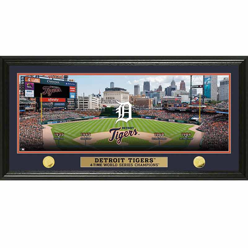 Detroit Tigers World Series Panoramic Frame 4392 170 9 1