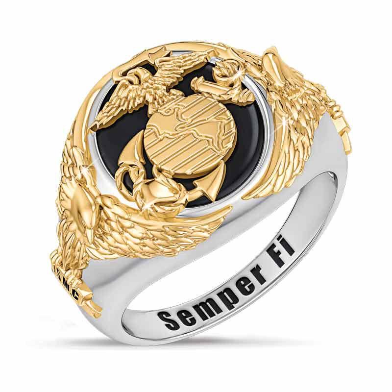 Personalized USMC Eagle Ring 5323 008 2 1