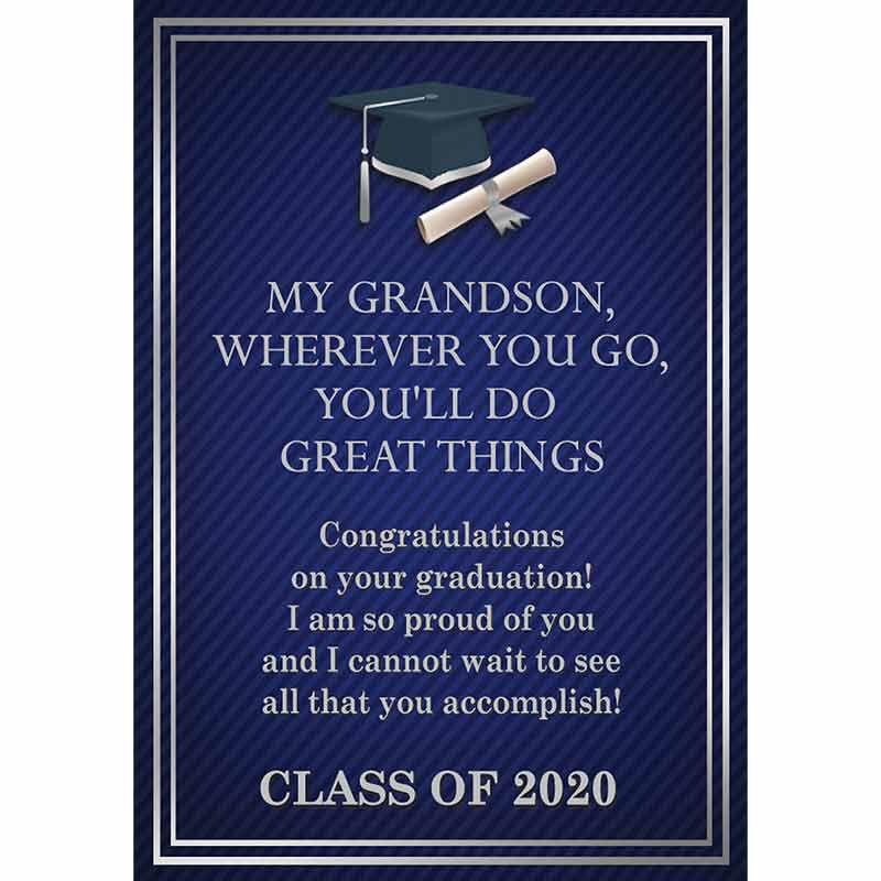 Grandson Leather Graduation Bracelet 5702 006 7 5