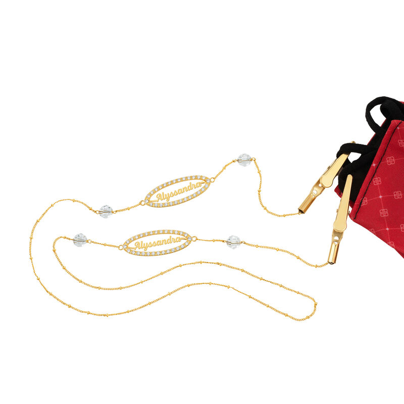 Personalized Mask Holding Chain 6888 0012 a main