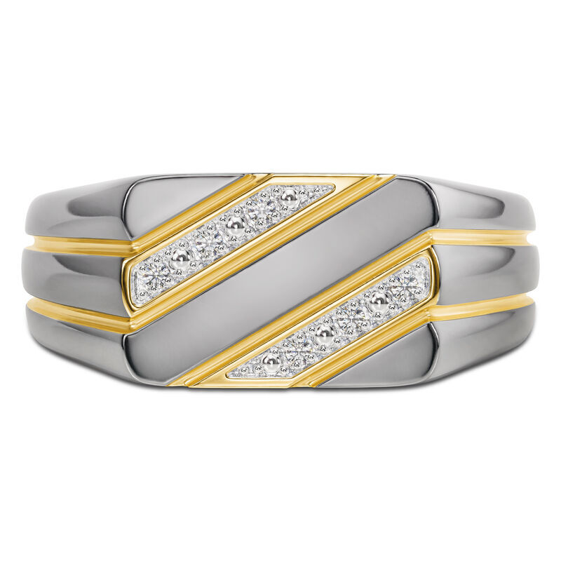 The Gentleman Mens Diamond Ring 6796 001 3 2