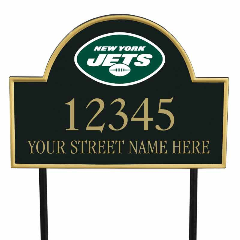 The NFL Personalized Address Plaque 5463 0355 r jets