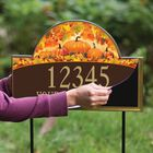 Seasonal Sensations Personalized Address Plaque 1919 002 4 6